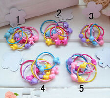 New Baby Kids Girl Elastic Hair Bands Ponytail Holder Hair Rope Ties Headband