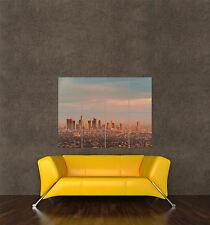 POSTER PRINT GIANT PHOTO CITYSCAPE DOWNTOWN LOS ANGELES SUNSET DUSKY PAMP058