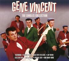 GENE VINCENT THE SINGLES COLLECTION 3CD BOXSET INCLUDING BE BOP A LULA & MORE