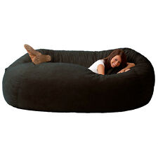 Black Bean Bag Chair for Adults Teens Large Giant Dorm Furniture Kids Rooms