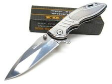 TAC-FORCE Stainless Steel ASSISTED Drop Point Folding Pocket Knife! TF-908CH