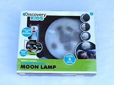 Discovery Kids remote control lunar Phase Moon Lamp new dvd included 6 phases