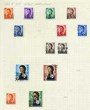 Hong Kong 1962 QEII Definitive p/set (13v. inc $10) mostly used