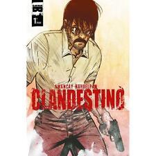 Clandestino #1 Amancay Nahuelpan Black Mask 1st Print NM