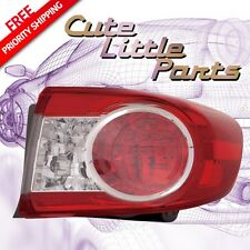Passenger Right Outer Tail Light for 2011 2012 2013 TOYOTA COROLLA Priority Ship