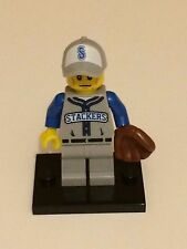 Series 10 Lego Mini Figure – Baseball Fielder