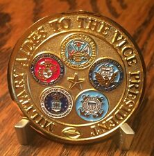 AUTHENTIC Military Aides to the Vice President Circa 2000's Challenge Coin