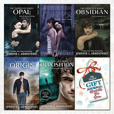 Lux Series Jennifer L. Armentrout Collection 5 Books Set With Journal Obsidian