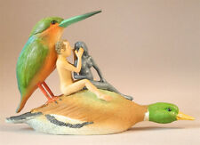 HIERONYMUS BOSCH Duck Seduction Sin Statue Fantasy Art Figure Figurine Sculpture