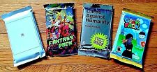 Lot - New Cards Against Humanity Silver, Fantasy, Geek, WWW -  Expansion Pack