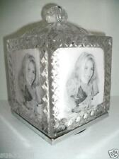 Fifth Avenue 5th Lead Crystal Glass Revolving Photo Cube Picture Faceted Frame