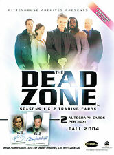 THE DEAD ZONE SEASON ONE AND TWO SELL SHEET