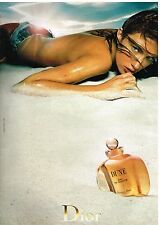 Publicité Advertising 2002 Eau de Toilette Dune par Christian Dior