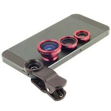 Universal Mobile clip lens Wide Angle Macro Camera Fish Eye