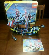 Lego Pirates 6285 Black Seas Barracuda with Box & Instructions