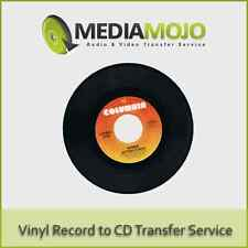 Vinyl Record to CD or Mp3 Transfer Service (Basic)