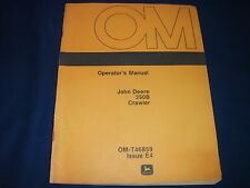 JOHN DEERE 350B CRAWLER TRACTOR DOZER OPERATION & MAINTENANCE MANUAL BOOK