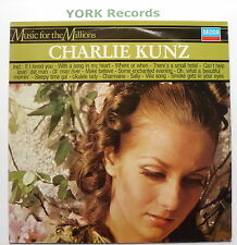 CHARLIE KUNZ - Music For The Millions - Excellent Con LP Record Decca 6495 109