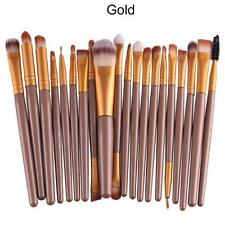 20 pcs Makeup Brush Set tools Make-up Toiletry Kit Wool Make Up Brush Set UK