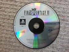 Final Fantasy VI - Sony Playstation PS1 DISK ONLY UK PAL