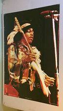 Original Vintage Poster Jimi Hendrix Guitar Pace 1979 Holmes McDougall pin-up