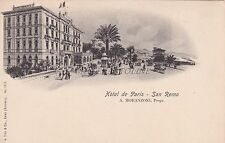 SAN REMO - Hotel de Paris