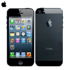 "Original Unlocked Apple iPhone 5  (16GB )4.0"" SmartPhone - iOS  Black"