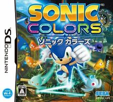 Used Nintendo DS Sonic Colors Japan Import (Free Shipping)