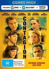 """Contagion"" (Blu-ray, 2012, 2-Disc Set) - Blu-ray, DVD & Digital combo pack"