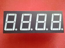 """7 Segment LED Display 4 Digit Red Common Anode 0.56"""" Nice and Bright"""