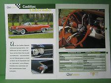 Cadillac  Eldorado - Datenblatt Car-Collection vom delPrado Verlag