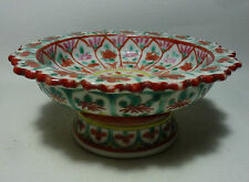 Chinese Export Porcelain To Thailand Southeast Asia Bencharong Tray Tazza