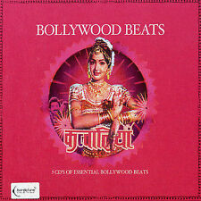 Bollywood Beats 3 disc CD Set Top Songs from Top Indian Movies Bar De Lune Mint