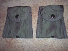 2 Military Issue First Aid Pouche Compass Pouch OD Green Pouch First Aid Bandage