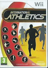 INTERNATIONAL ATHLETICS=NINTENDO Wii=RUN=ARCHERY=SHOOT=SPRINT=HURDLES=POLE
