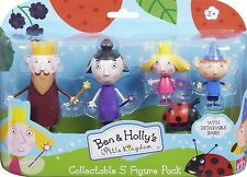 Ben and Holly's little kingdom Great toy present cute 5-Figure