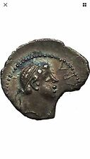 JUBA II King of Mauretenia husband of CLEOPATRA SELENE Silver Greek Coin
