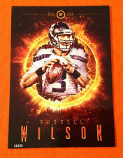 2014 Topps Fire 5x7 Ring of Fire RUSSELL WILSON Seahawks (#D /99 Made)