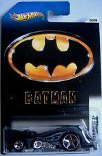 Hotwheels (2011) Batman Batmobile-escala 1:64 - #08/08 - En Tarjeta Larga
