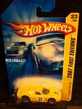 HOT WHEELS 2007 FE #23 -156-4 FERRARI 250 LM YELLO FEC INTL LONG CARD