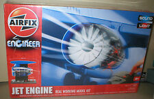 JET ENGINE Build & Play ELECTRONIC Operating AIRFIX MODEL with LIGHTS & SOUND