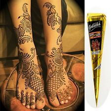 New 1pc Body Art Paint Temporary Tattoo Kit Natural Herbal Henna Cones MehandiFG