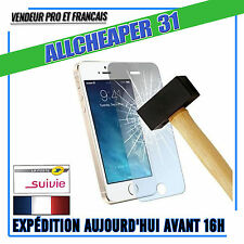 Vitre Verre Trempé IPHONE 5 5s 5c Anti Casse Films Protection  Authentique
