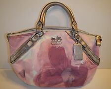 COACH 17002 Pink Madison Floral Print SOPHIA Handbag - Great Condition