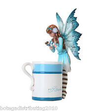 Amy Brown Hot Cocoa Faery Fantasy Art Statue Hot Chocolate Cup Figurine