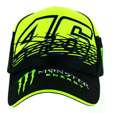 Valentino Rossi VR46 Moto GP Monster Energy Replica Baseball Cap Official 2017