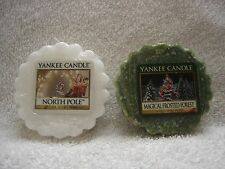 YANKEE CANDLE*****NORTH POLE & MAGICAL FROSTED FOREST*****~~~BRAND NEW~~~SEALED