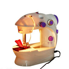 Electric Portable Mini Desktop Sewing Machine Hand Held Household Sartorially A