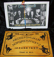 CAT & WITCH HALLOWEEN VINTAGE OUIJA BOARD REPLICA