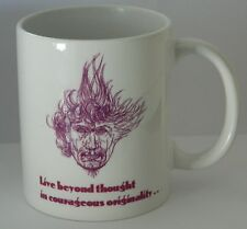 AUSTIN OSMAN SPARE - SUPERB COLLECTABLE 11oz MUG - FEATURING 2 DRAWINGS & QUOTE